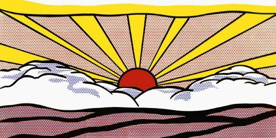 sunrise-Roy Lichtenstein_1965